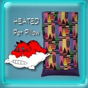Crayon rice bag pet pillow heating pad cat dog